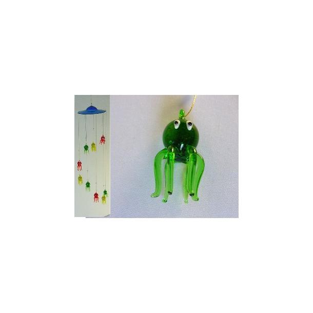 Blæksprutte uro i farvet glas