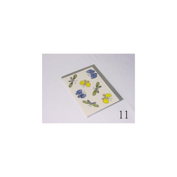 Kort Sølv kort med Sølvkuvert